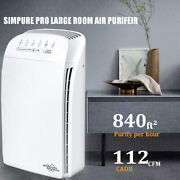 Msa3 Air Purifier For Home Large Room Bedroom, True Hepa Filter, 100 Ozone Free