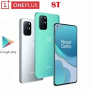 Oneplus 8t Android 11 5g Smart Phone Unlocked Cell Phone Snapdragon 865 12+256gb