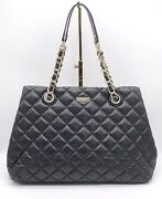🌟euc 9/10 Kate Spade Gold Coast Maryanne Quilted Leather Chain Shoulder Bag