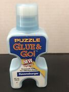 Ravensburger Glue And Go, 4 Oz, For Two 1000 Piece Puzzles, New And Improved