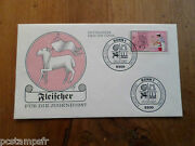 Germany Federal Rfa 1987 Fdc Craft Professions Boucher Jobs Stamp 1149