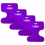 Vos Oasis Pool Float Seat For Adults And Kids Deep Lavender 4 Pack