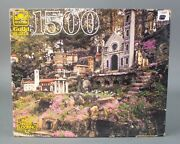 Golden Guild Jigsaw Puzzle 1500 Piece Ave Maria Grotto, Al New And Sealed