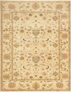 Hand-knotted Carpet 9and0393 X 11and03911 Traditional Vintage Wool Rug