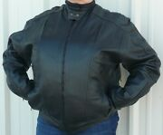 Zap Leather Crossroads Men's Big And Tall Motorcycle Jacket Wholesale Avail