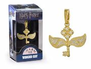 The Noble Collection Dije Harry Potter No. 12 Llave Alada