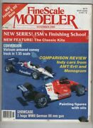 Fine Scale Modeler Indy Cars From Amt/ertl And Monogram November 1989 122920nonr
