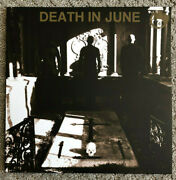 Death In June Nada Lp Current 93 Crisis Synth Darkwave Neofolk Rare Euro Import