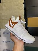 Nike Kevin Durant Kd 10 X Texas Longhorns Promo Pe Sample Size 8.5 Ds