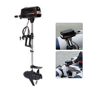 New 48v 2200w Electric Brushless Outboard Trolling Motor Fishing Boat Engine