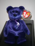 Ty Beanie Baby - Princess Diana Bear 1997 Rare And Retired - Mint With Mint Tags