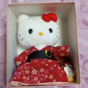 Kitty Japanese Clothes Plush Doll