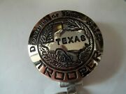 706 707 Silver Key Ring Dept Public Safety Trooper Texas Map