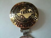 708 709 Gold Key Ring Dept Public Safety Trooper Texas Map