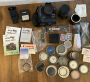 Canon Eos Rebel Xs Digital Camera W Tamron Af 28-200mm + Battery Filters Strap