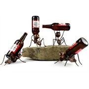Wine Rack Funny Ant Creative Holder Table Craftworks Home Decor Bar Accessories