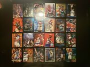 Shaquille Oand039neal Huge 24 Card And Insert 90s Lot Orlando Magic Nba H.o.f.