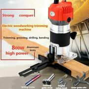 Electric Trimmer 800w 30000rpm Woodworking Engraving Slotting Carving Machines