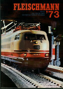 Fleischmann Ho And N-scale Electric Trains And Motor Racing Catalog 1973