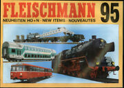 Fleischmann Ho And N-scale Electric Trains New Items Catalog 1995
