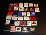 Vintage Milwaukee Matchbook Collection, 34 In All