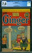 Ginger 5 Cgc 7.0 - Ow Pages - Single Highest Graded