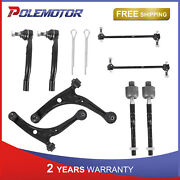 Front Lower Control Arm Sway Bar End Link Ball Joints For Acura Mdx Honda Pilot