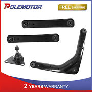 Set Rear Upper Lower Control Arm Ball Joint For Jeep Grand Cherokee 1999-2004