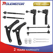 Front Lower Control Arm Tie Rod Ends Ball Joint For Dodge Caliber Jeep Compass