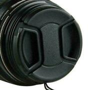 58mm Front Lens Cap Hood Cover Snap-on For Nikon Tokina Sigma
