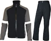 Fit Space Waterproof Golf Rain Suits For Men Performance Rain Jackets And Pants