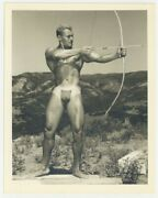 Bruce Of Los Angeles 1950 Mike Sill Blond Beefcake Hunk Gay Physique La 7550