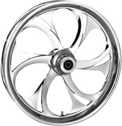 Rc Components Recoil Dual Disc 23 Abs Front Wheel 08-17 Harley Touring Flhr