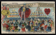 Victorian Trade Card 1880s Congress Shoes Insurance Uncle Sam Political Vtc-b84