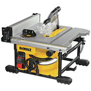 Dewalt Dwe7485ws 15 Amp Compact 8-1/4 In. Jobsite Table Saw W/ Stand New