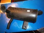 Craftsman Gt6000 Garden Tractor Exhaust Muffler+manifold Pipe Fits Bands Twin Fp