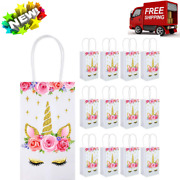 Gift Candy Bags With Handle For Birthday Party Suppliers 12 Packs...