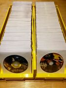Dvd Cd Disc Bin Divider Box Many Colors And Quantities. You Choose. Free Ship