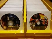 Dvd Cd Disc Bin Divider Box Many Colors And Quantities. You Choose. Free Ship.