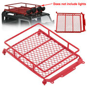 Roof Luggage Rack For 110 18 Traxxas Tamiya Axial Scx10 D90 Hpi Rc Crawler Car