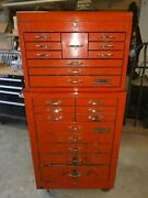 Cornwell 21 Drawer, Lockable, Rolling Mechanics Tool Chest/box Tools Included