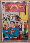 Nearly Perfect Silver Age Superman Adventure Comics 350 Supergirl Cgc Worthy