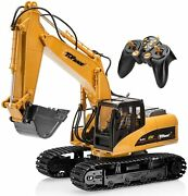 Excavator Toy Remote Control Large Rc Digger Truck Construction Tractor Replica