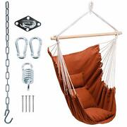 Hanging Hammock Chair Swing - Swing Chairs For Outside - Hanging Chairs For