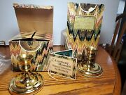 2 Brighton Brass Candlesticks By Baldwin From The American History Smithsonian