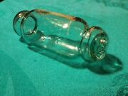 Collectible Glass Barrel Style Fishing Float Unique Hokkaido Roller Rolling Pin