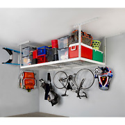 Saferacks 4 Ft. X 8 Ft. Overhead Garage Storage Rack And Accessories Kit