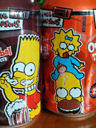 Lot Of 2 Vintage 2003 Canada Exclusive Simpsons Soda Pop Can Homer Maggie Bart