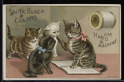 Victorian Trade Card 1880s J And P Coats Six Cord Thread For Sewing Vtc-c32