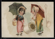 Victorian Trade Card 1880s J And P Coats Six Cord Thread Cotton Sewing Vtc-c76
